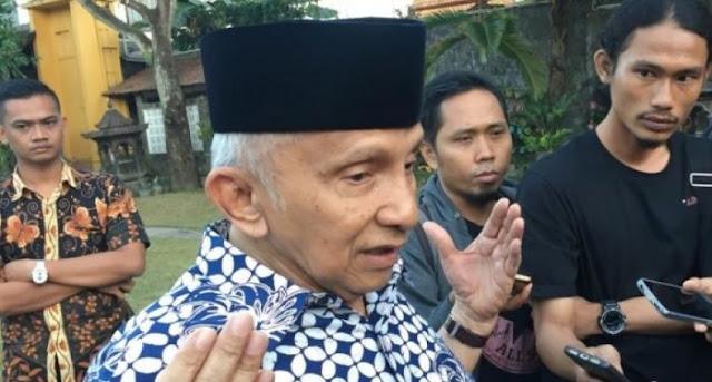 Meski Dekat, Ternyata Amien Rais Tak Tahu Prabowo Bertemu Jokowi