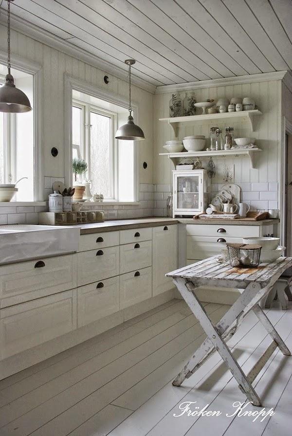 Ideas deco c mo sacar partido a las cocinas blancas - Reformas de cocinas baratas ...