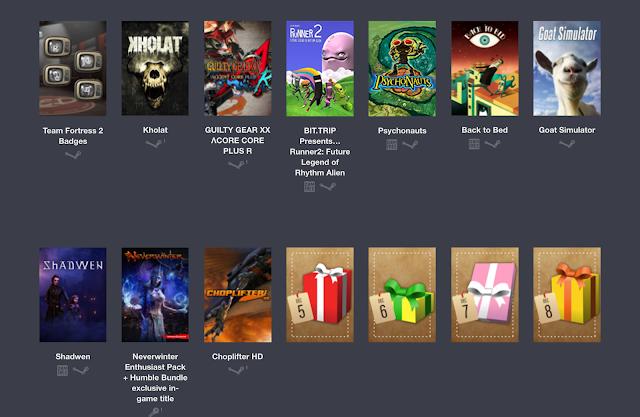 Humble Bundle presenta un mega-pack de más de 35 juegos