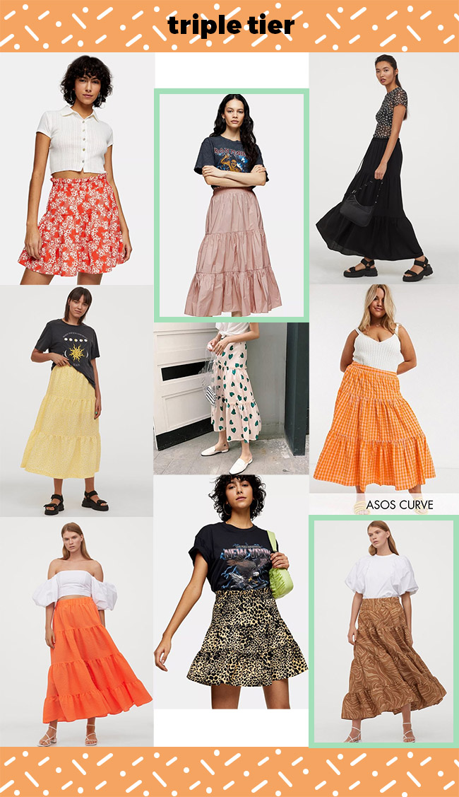 10 design hack ideas for the Dominique skirt