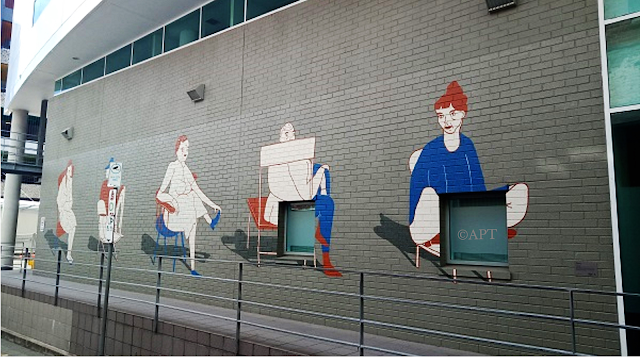 Hobart Street Art | Mural by Jae Criddle