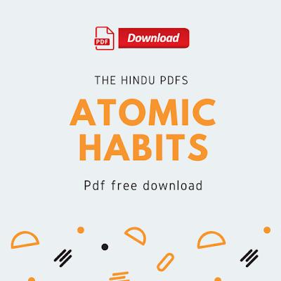 Atomic Habits Pdf Free Download