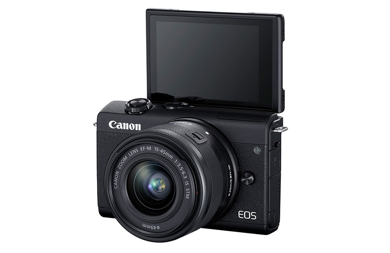 Canon EOS M200 unleashed, entry-level mirrorless cam with 4K!