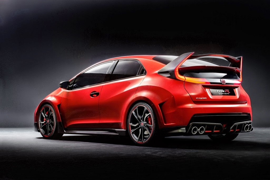 600 All New Honda Civic Type R HD Terbaik
