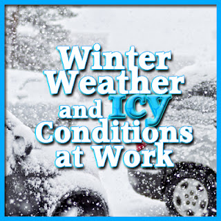 Winter Weather and Icy Conditions at Work