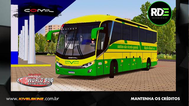 COMIL 1200 4X2 - VIAÇÃO RÁPIDO BRASIL S.A