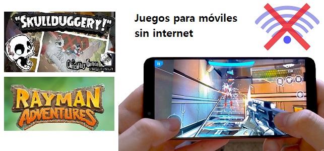 Juegos para móviles sin internet