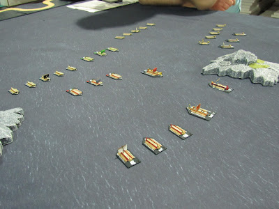 posiedon's warriors osprey ancient naval rules battle of actium