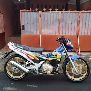 Jual Suzuki Rider 2003 Langka Punya