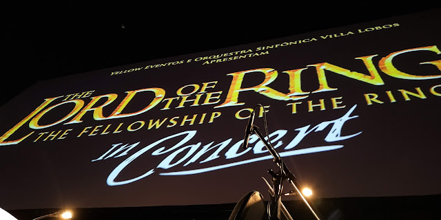 The Lord of the Rings (In Concert), o senhor dos aneis