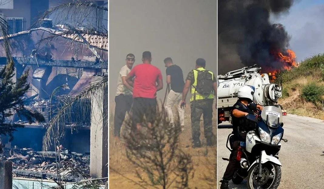 Φωτιά στην Αχαϊα: Εκκενώνονται πάνω από 10 χωριά – Τραυματίες και καμένα σπίτια (video)
