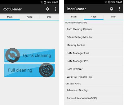 Root Cleaner v6.4.0 Apk Full Gratis Terbaru - Akozo.Net