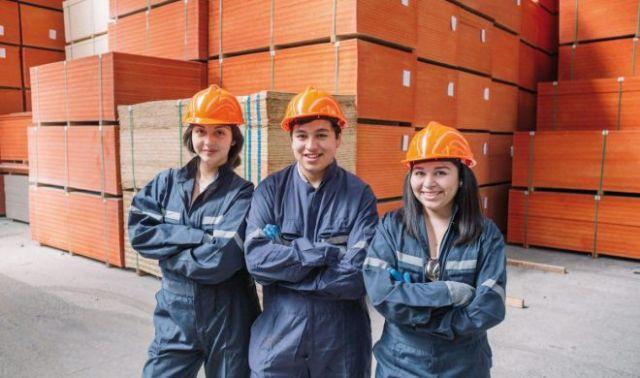 Estudiantes de Liceos Técnico Profesionales