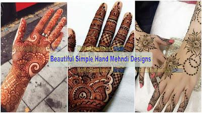 Beautiful New Bridal Mehndi Design for Back Hand