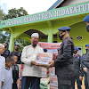 Momen Jelang HUT Bhayangkara ke-75, Brimob Bone Santuni Anak Yatim di Yayasan Al-Fath