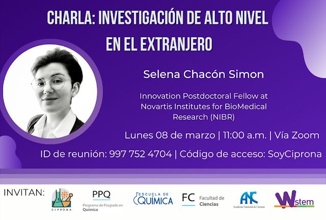Actividades científicas en conmemoración al Día Internacional de la Mujer