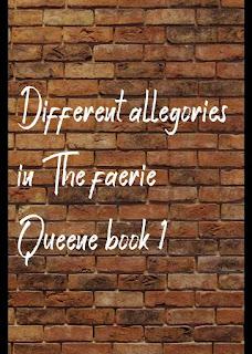 different allegories in The Faerie Queene