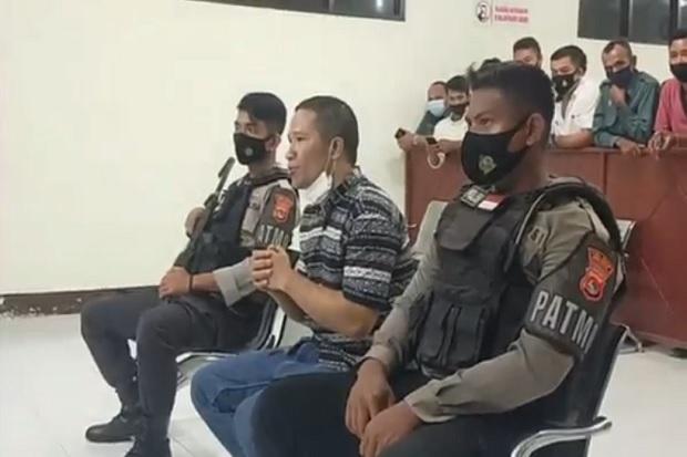 Pelaku Pembunuhan Asal Manggarai Dijatuhi Hukuman Mati di Bima