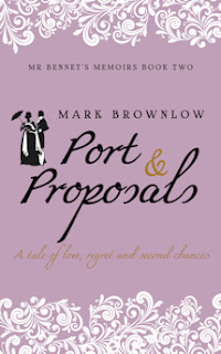Book Cover: Port & Proposals by Mark Brownlow
