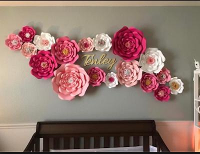 Inspirasi Hiasan Dinding  Dari Kertas Yang Membuat Anda  Kerasan Di Dalam Kamar 13