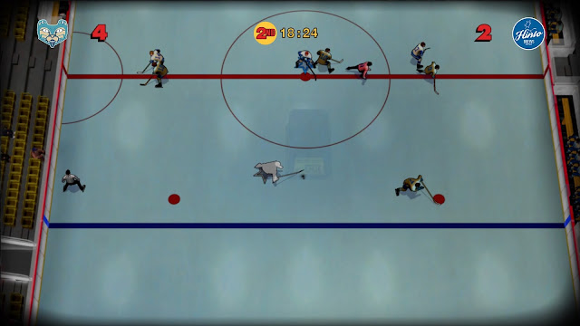 Old Time Hockey on PlayStation 4