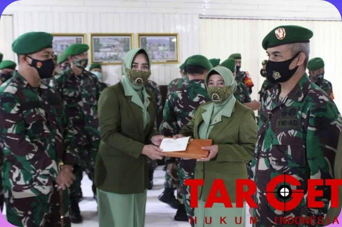 Dandim 0612 Tasikmalaya Pimpin Acara Korps Raport Pamen Dan Pama Kodim 0612/Tasikmalaya