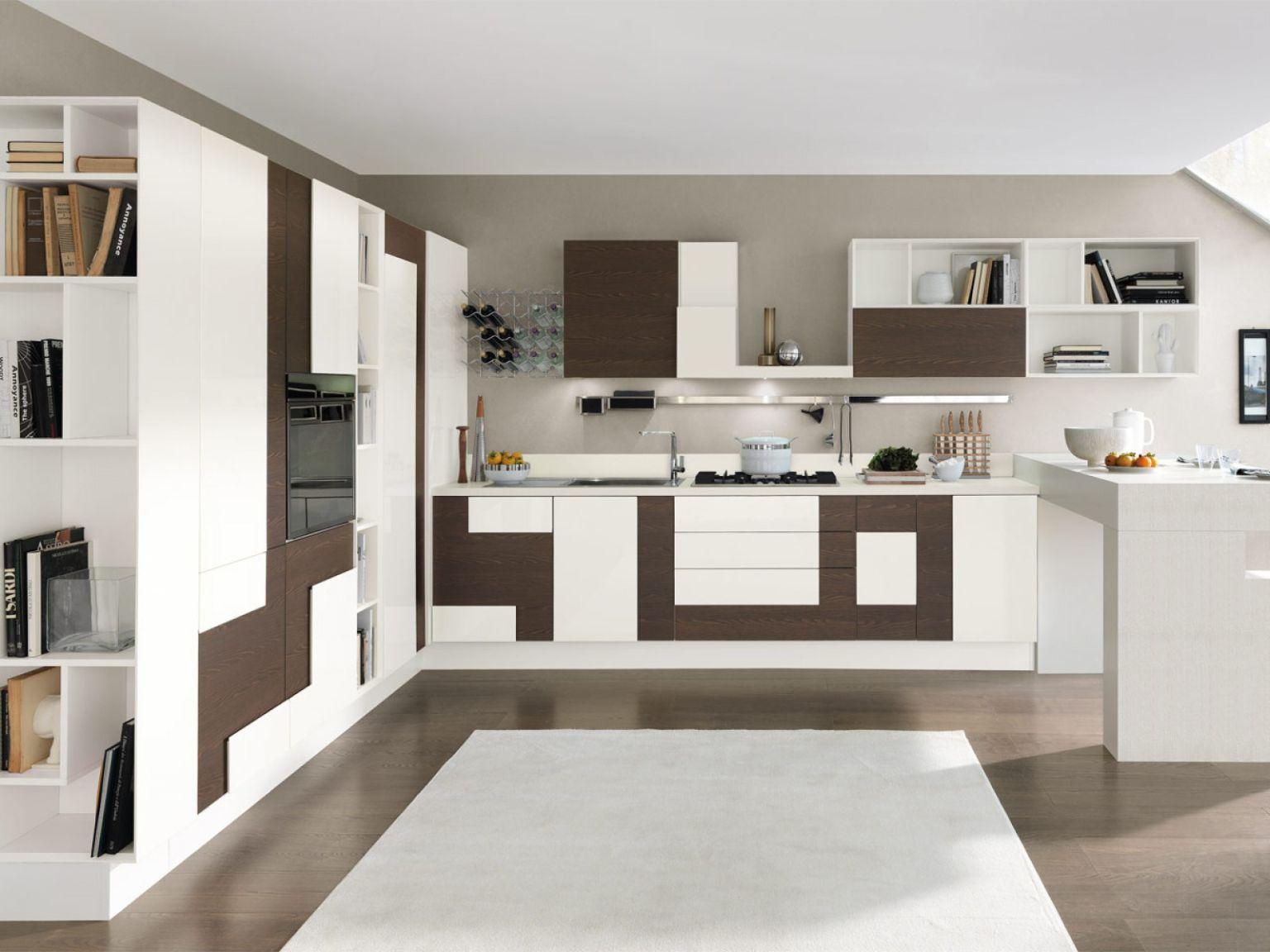 Desain Dapur Modern Elegant White 03