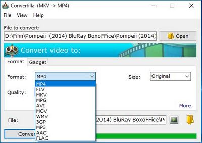 Convertilla Video Converter