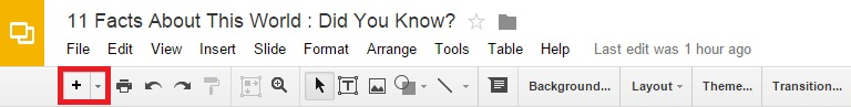 how to add someone to a google slide after