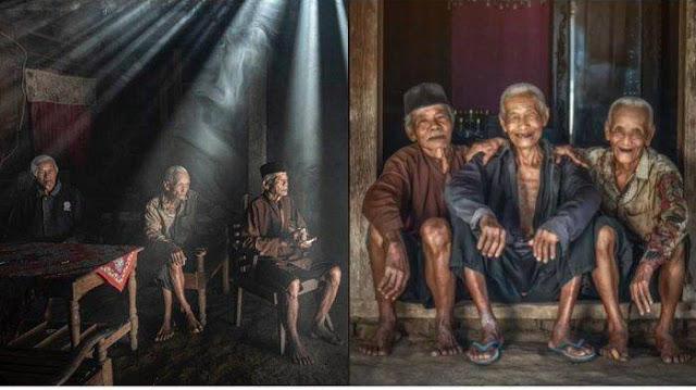 Viral Kisah 3 Kakek Bersahabat sejak Kecil, Sering Berkumpul Bersama di Warung Kopi