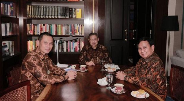 Kader-Kader Demokrat Cenderung Sokong Prabowo