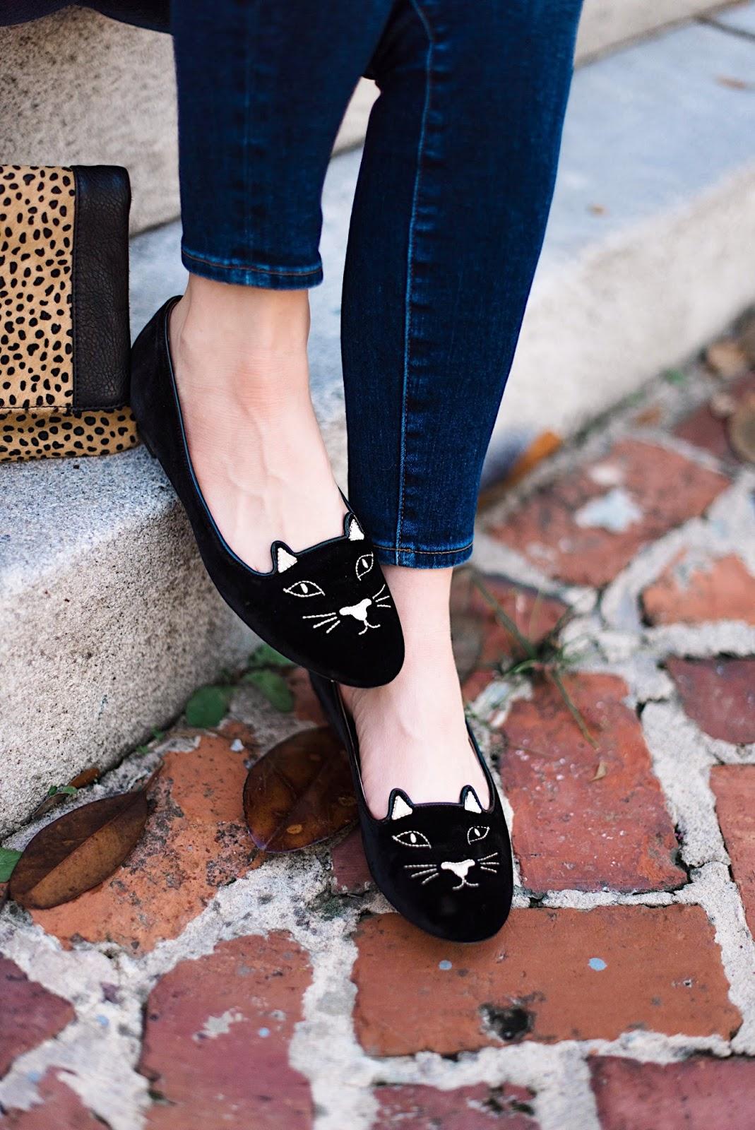 Charlotte Olympia Kitty Flats - Something Delightful Blog