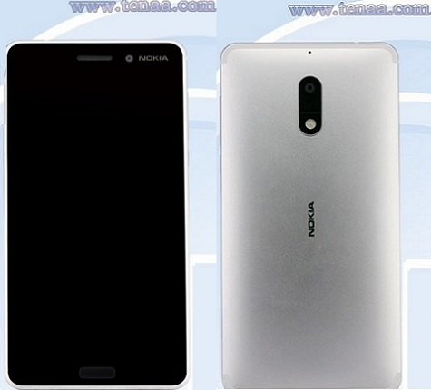 Nokia-6-Launches-in-silver-color
