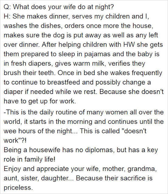A Facebook Post About Stay-At-Home Moms Goes Viral! Read It and It Will Surely Touch Your Hearts!