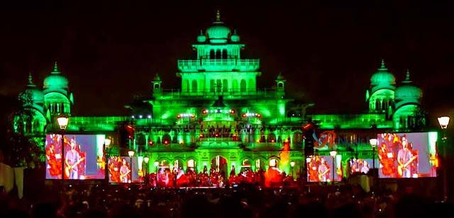 Jaipur, Rajasthan Day Festivities, Rajasthan Festival, Bhanu Bharti, Governor of Rajasthan, Kalyan Singh, Vasundhara Raje