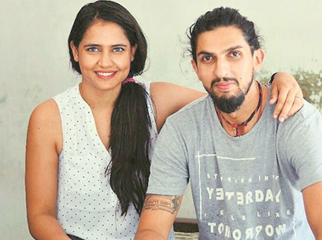 Ishant Sharma And Wife HD Photos gallery