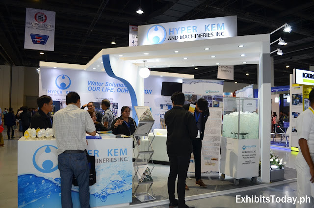 Hyper Kem and Machineries Exhibit Stand