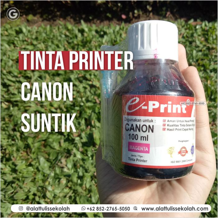 TERMURAH!!! Tinta Printer Canon Suntik | +62 852-2765-5050