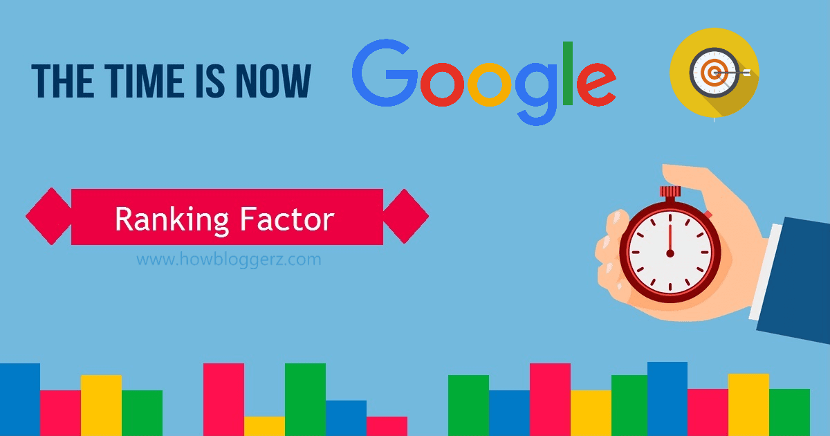 Time is now google ranking factor