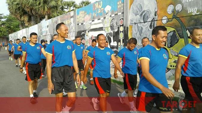 Soliditas TNI, Kodim Pati Laksanakan Penyegaran Jasmani