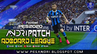 PES 2020 Adboard League AIO For Andri Patch by Sofyan Andri