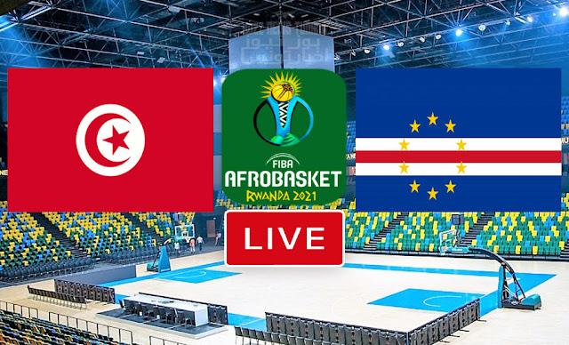 Regarder un Match De Basketball: Tunisie vs Cap-Vert En Direct FIBA AfroBasket Rwanda 2021