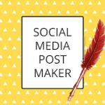 Social Signed : Aplikasi Pembuat Post Sosial Media