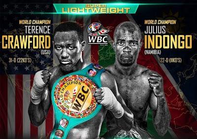 Crawford vs Indongo Live