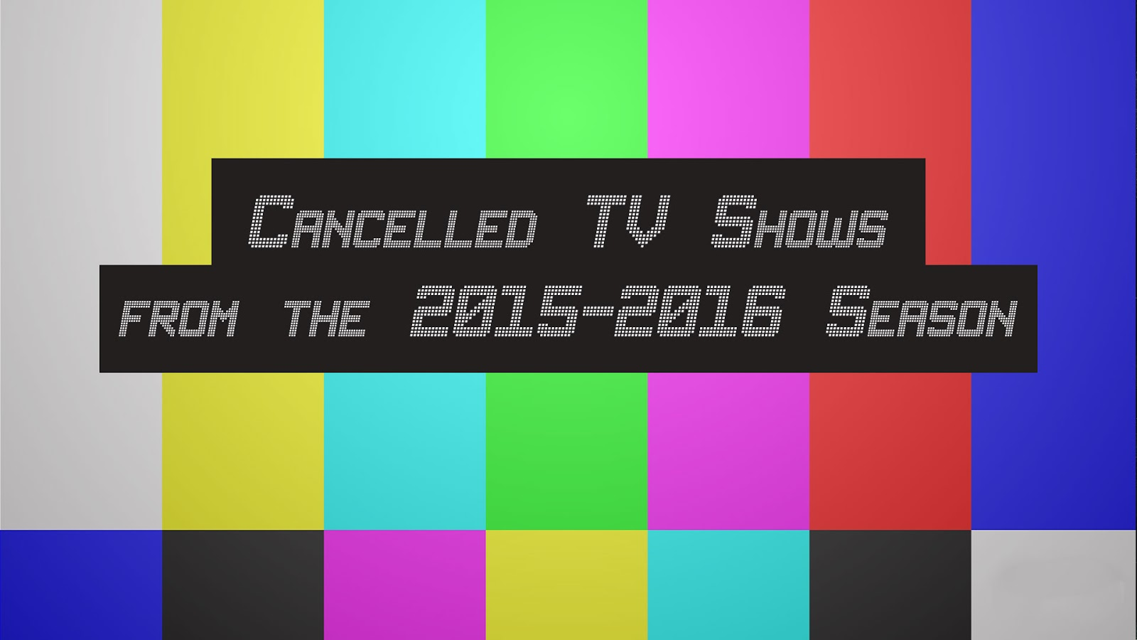 May 2016 TV show renew or cancel