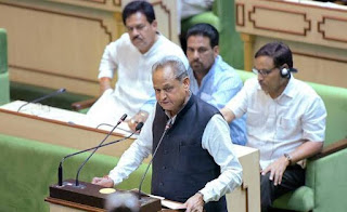 Gehlot announces ₹1,000 cr fund for farmers, Janta Clinics in Budget