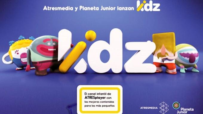 Atresmedia y Planeta Junior lanzan el canal infantil Kidz para Atresplayer