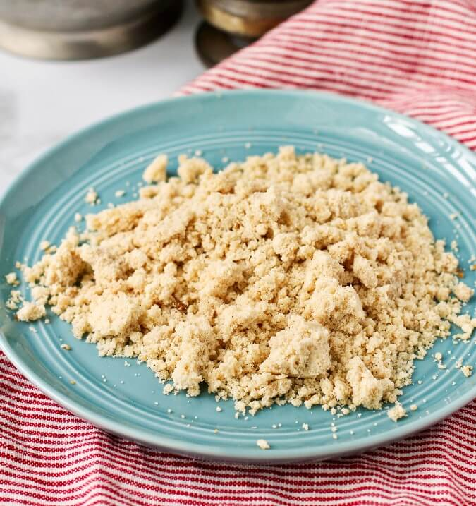 Streusel for cookies or muffins