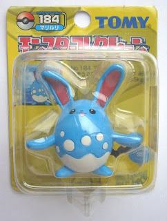 Azumarill Pokemon Tomy Monster Collection yellow package series