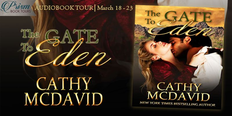 We're launching the Audiobook Tour for THE GATE TO EDEN by Cathy McDavid!